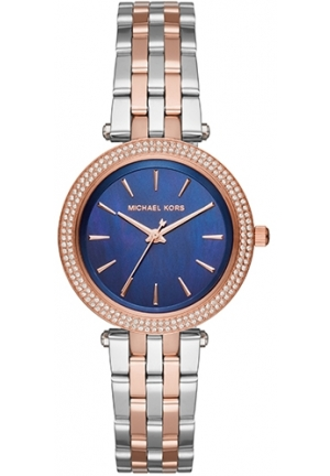 MICHAEL KORS  Darci Pavé Two-Tone Watch