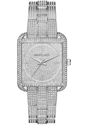 Lake Pavé Silver-Tone Watch