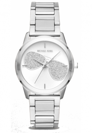 Michael Kors Hartman Stainless-Steel Three-Hand Watch