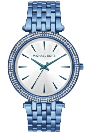DARCI PAVÉ CERULEAN-TONE WATCH , 39MM