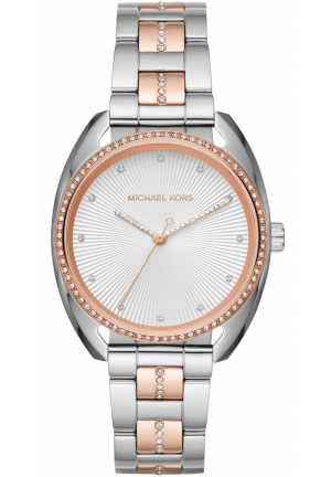 Michael Kors Libby Two-Tone Three-Hand Watch