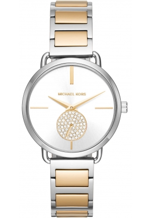Michael Kors Portia Two-Tone Two-Hand Sub-Eye Watch