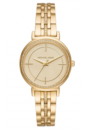 CINTHIA GOLD MOTHER OF PEARL DIAL LADIES WATCH