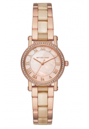 PETITE NORIE PINK MOTHER OF PEARL DIAL LADIES WATCH