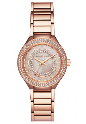 MINI KERRY ROSE GOLD-TONE WATCH