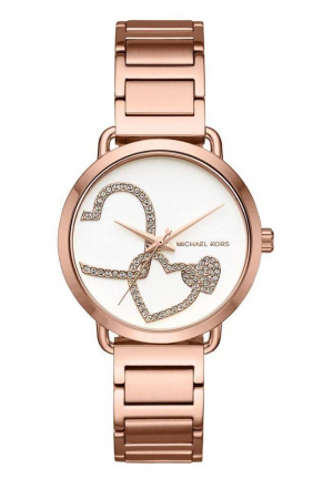 Michael Kors Portia Rose Gold-Tone Watch