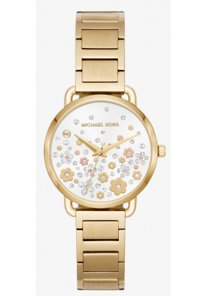 MICHAEL KORS Mini Portia Gold-Tone Watch