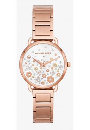 MICHAEL KORS Mini Portia Rose Gold-Tone Watch