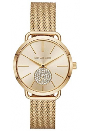 MICHAEL KORS Porita Gold Dial Ladies Watch