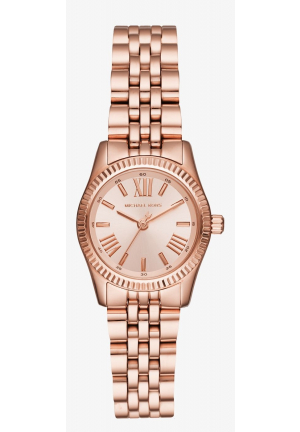 MICHAEL KORS Petite Lexington Rose Gold-Tone Watch