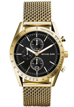 Accelerator Men's Gold Tone Chronograph 42mm