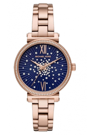 Michael Kors Sofie Rose-Gold Stainless Steel