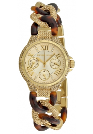 Michael Kors Two-Tone Glitz Mini Camille Watch