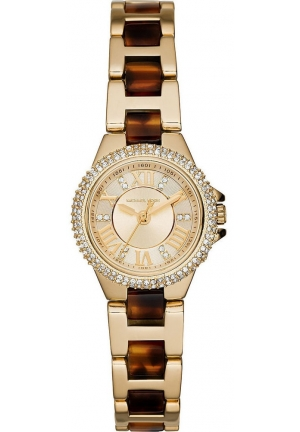 Michael Kors Gold Tortoise Two Tone Ladies Watch 26mm