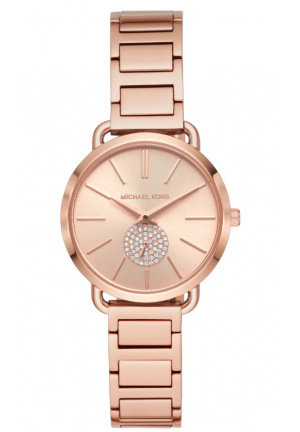 Michael Kors Women's Portia Rose Gold-Tone Watch