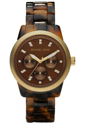 Michael Kors Women's Ritz Tortoise Watch 36mm