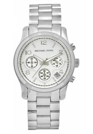 Unisex Stainless Steel Chronograph Watch 38mm