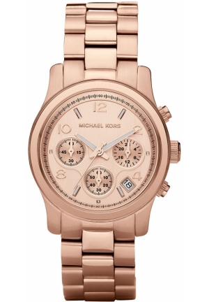 Unisex 'Runway' Rose Gold Watch, 38mm