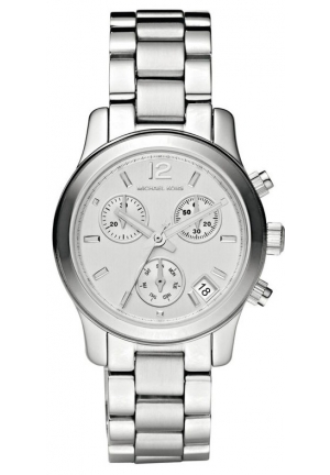 Michael Kors Women's Runway Silver Watch