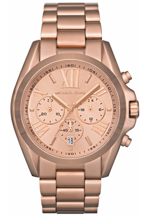 MICHAEL KORS Bradshaw Rose Gold Dial Women's Watch 43mm