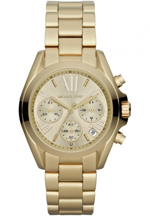 MICHAEL KORS Women's Chronograph Gold-tone  36mm