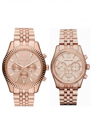 Michael Kors Lexington Couple Rose Gold