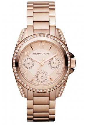 Michael Kors Women's Blair Rose gold Watch 33MM