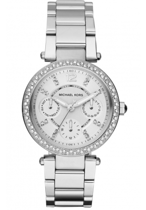 Women's Chronograph Parker Stainless Steel Bracelet 33mm