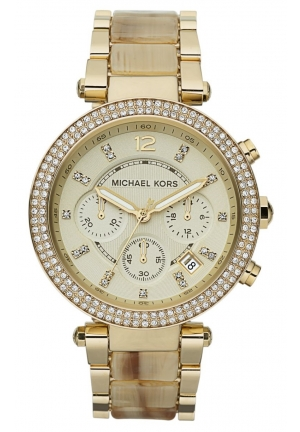 Women's Parker Gold/Horn Watch 39mm