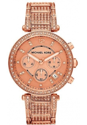 Women's Chronograph Parker Rose Gold-tone Stainless Steel 39mm
