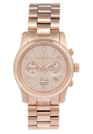 Michael Kors Paris Limited Edition Runway' Rose-goldton e Watch