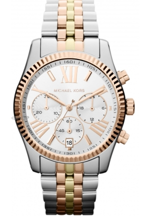 MICHAEL KORS Unisex Chronograph Stainless Steel Bracelet 38mm