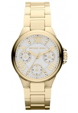 MICHAEL KORS Ladies Camille Gold Watch 33mm