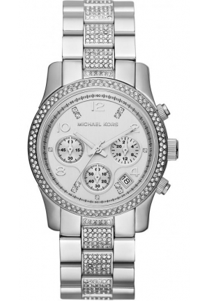 Women's Chronograph Runway Stainless Steel Bracelet Watch 38mm