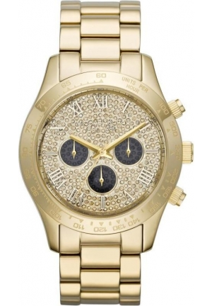 Michael Kors Gold Layton Watch 43mm