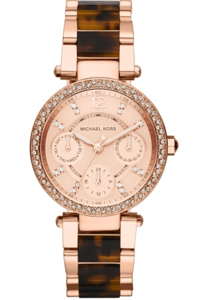 Women's 'Mini Parker' Crystal Bezel Bracelet Watch, 33mm