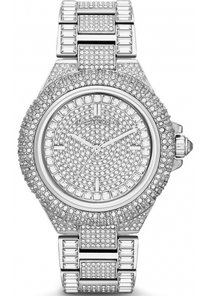 'Camille' Crystal Encrusted Bracelet Watch, 44mm