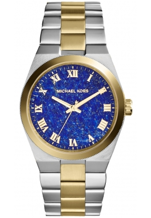 Channing Silver And Gold-Tone Stainless Steel Watch 38mm