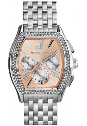 Amherst Chronograph Champagne Dial Stainless Steel Ladies Watch 38mm