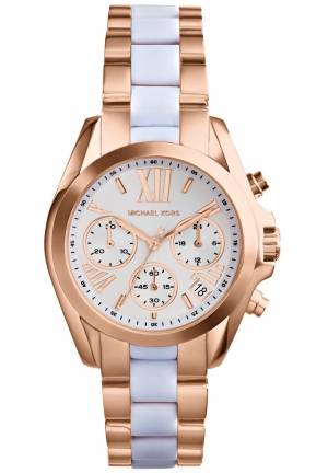 MICHAEL KORS Bradshaw Mini Chronograph Watch 36mm