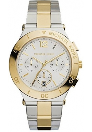 Wyatt Chronograph Silver Dial Two-tone Mens Watch 40mm