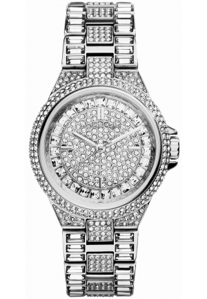 MICHAEL KORS 'Mini Camille' Silver Ladies Watch 33mm