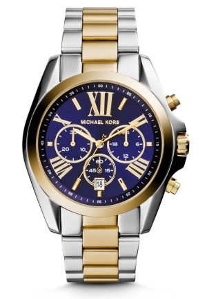 Chronograph 'Bradshaw' Two Tone Stainless Steel Watch 43mm