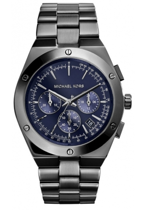 MICHAEL KORS Reagan Silver-Tone Watch