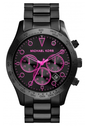 MICHAEL KORS Layton Black Watch 44mm