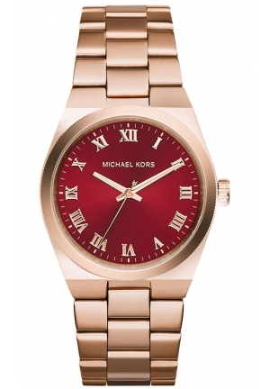 Channing Rose Gold Plated Watch 38mm
