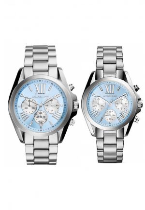 Michael Kors Couple Bradshaw Silver