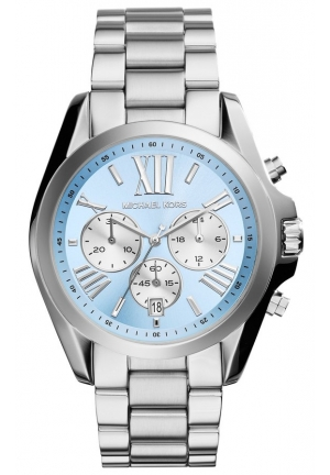 Bradshaw Silver-Tone Stainless Steel Watch 43mm