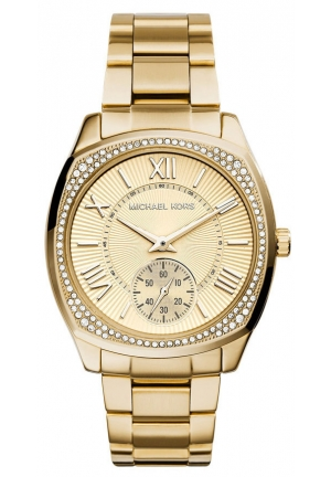 MICHAEL KORS Bryn Gold-Tone Stainless Steel Bracelet Watch 40mm