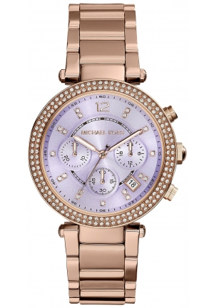 Parker Rose Gold-Tone Stainless Steel Watch 39mm